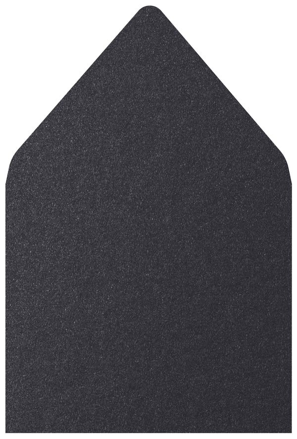 A-7.5 Onyx Black Metallic - Euro Flap Envelope Liner