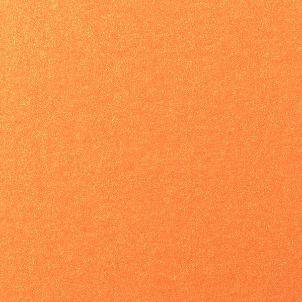 Orange Flame Metallic Card Stock 105 lb, 5