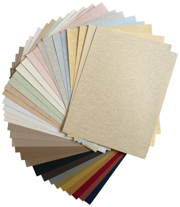 Parchment & Recycled Sampler Variety Pack - Paperandmore.com