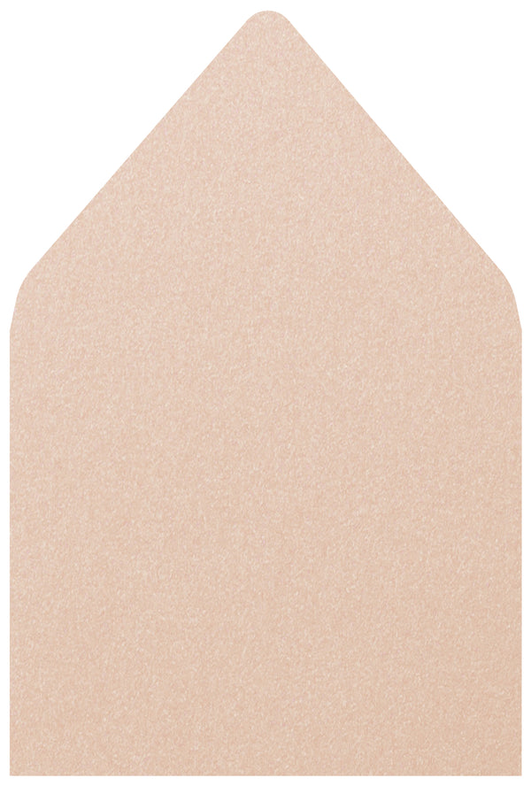 A-7 Peach Metallic - Euro Flap Envelope Liner