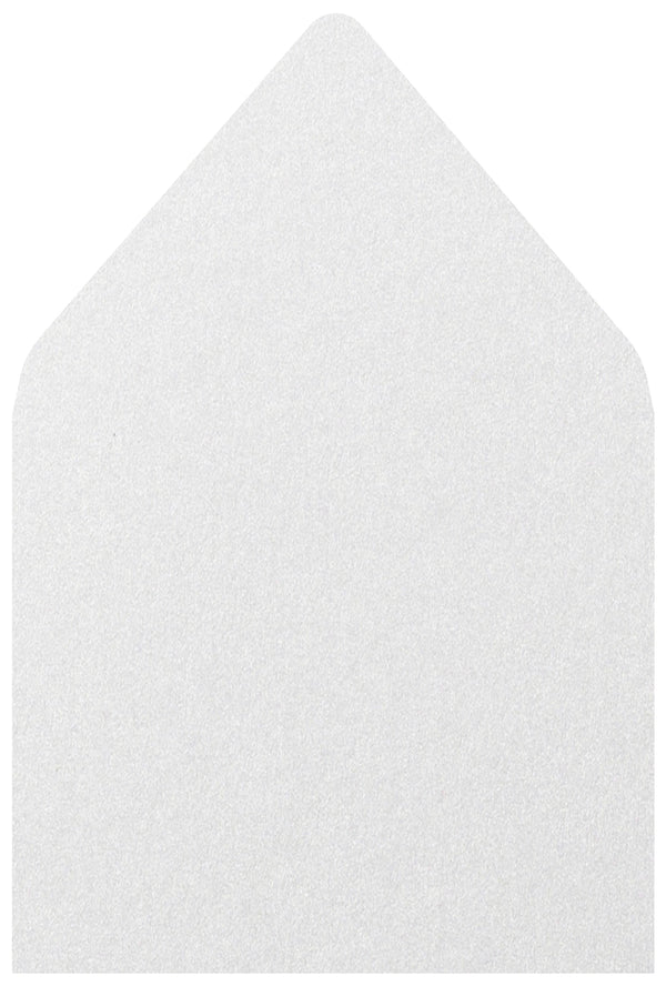 A-7.5 Pearl White Metallic - Euro Flap Envelope Liner
