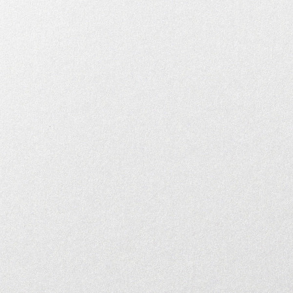 "Pearl White 137 lb Metallic Double Thick Card Stock, 8 1/2"" x 11"" - Paperandmore.com"