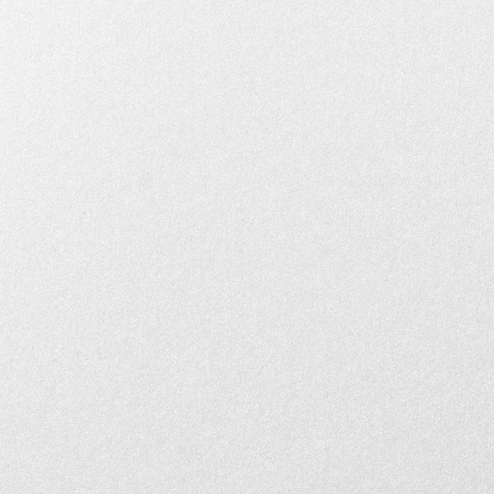 "Pearl White Metallic Card Stock 107#, 5"" x 7"""