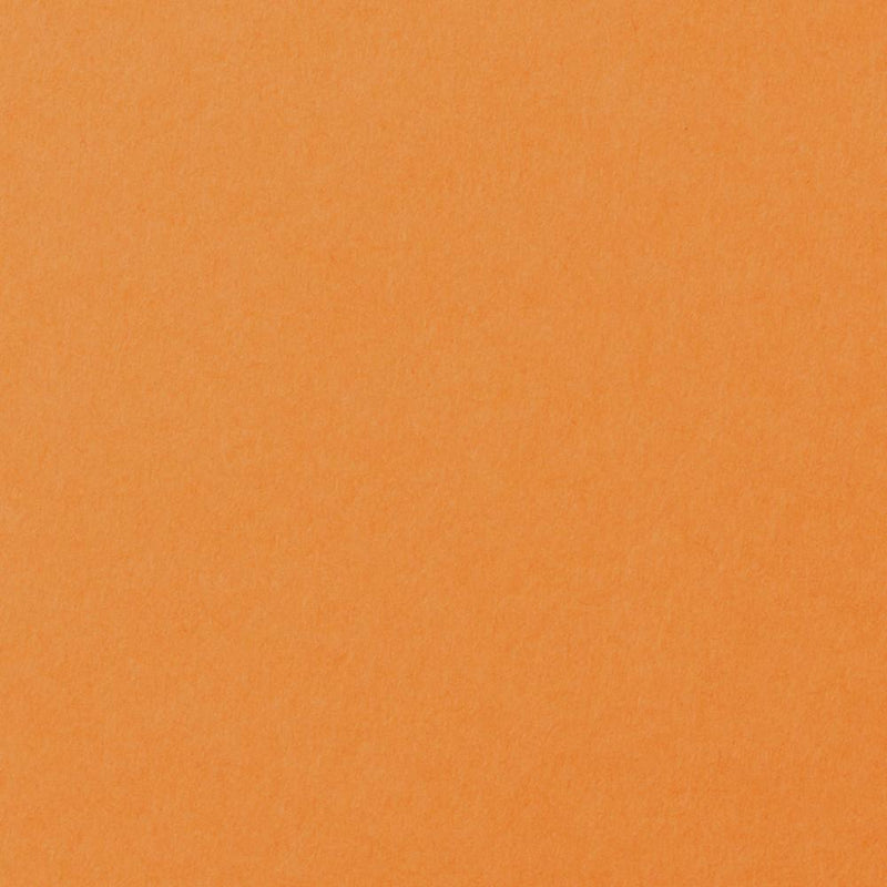 Pumpkin Orange Solid Cardstock 100#, A9 Flat Card - Paperandmore.com