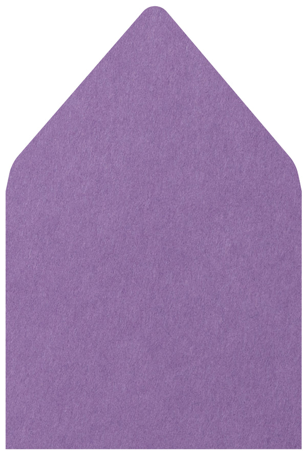 A-7.5 Purple Grape Solid - Euro Flap Envelope Liner