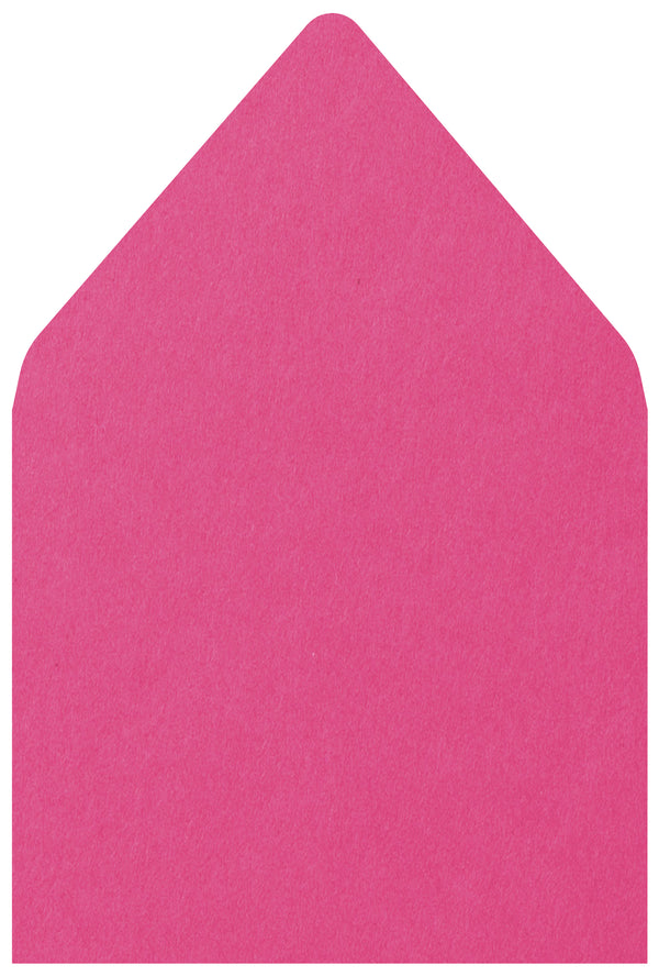 A-7.5 Razzle Pink Solid - Euro Flap Envelope Liner