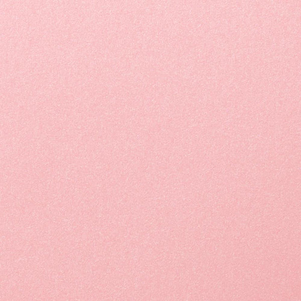 Rose Pink Metallic Paper 81 lb Text, 8 1/2