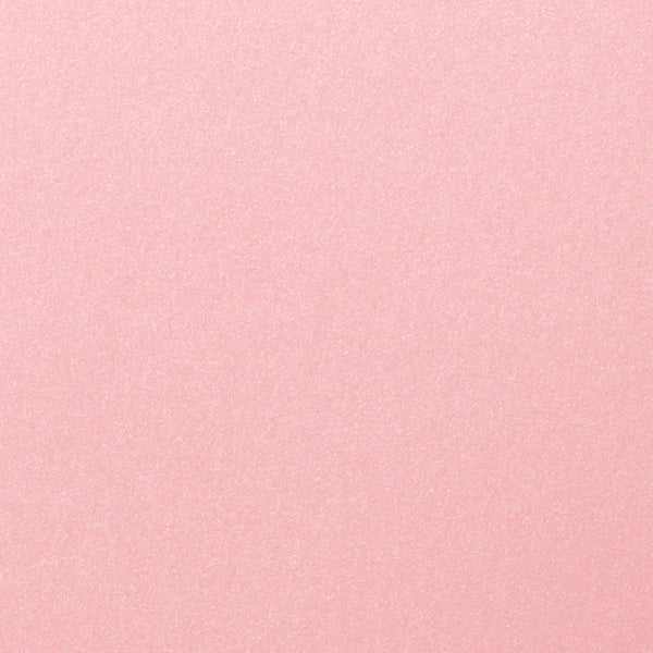 "Rose Pink Metallic Card Stock 105 lb, 5"" x 7"" - Paperandmore.com"