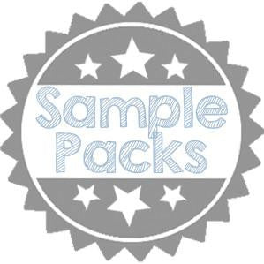 6 1/4 Square Denali Pocket Cards Sampler Pack - Paperandmore.com