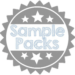 Solid Dark Text Paper Sampler Pack - Paperandmore.com