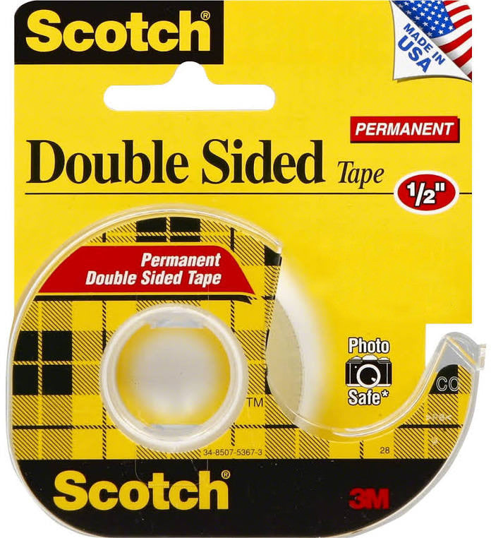 Scotch Double Sided Tape - Paperandmore.com