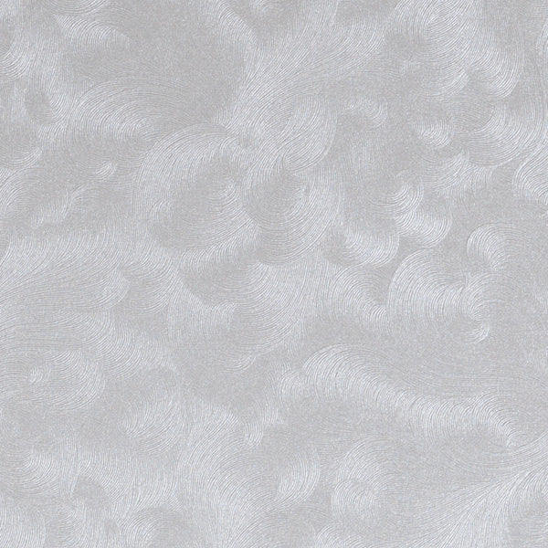 Silver Swirls Metallic Card Stock 80#, 8 1/2