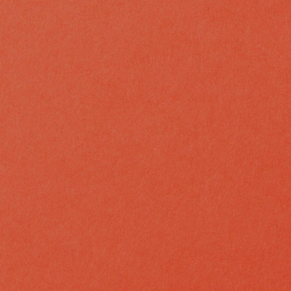 Sunset Orange Solid Cardstock 100#, A9 Flat Card - Paperandmore.com