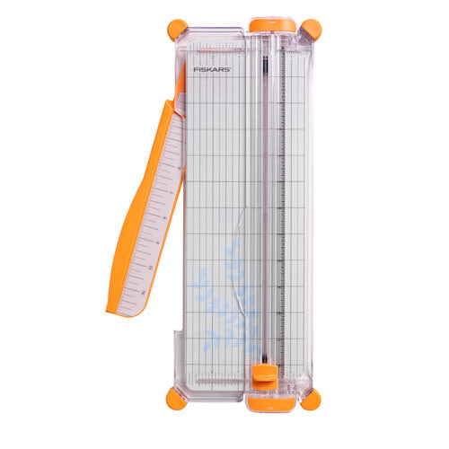 "Fiskars 12"" Portable Paper Trimmer - SureCut - Narrow Base - Paperandmore.com"