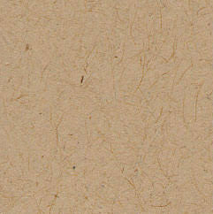 "Taupe Brown Recycled 80# Petal Card Enclosure, Square 6 1/4"" - Paperandmore.com"