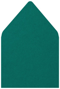 A-7 Teal Solid - Euro Flap Envelope Liner