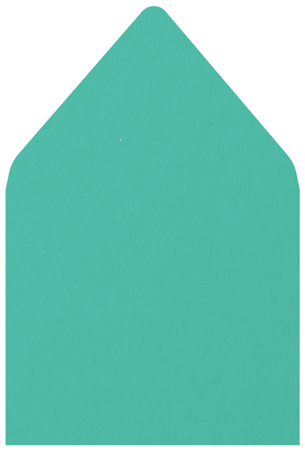 A-7 Tiffany Blue Solid - Euro Flap Envelope Liner