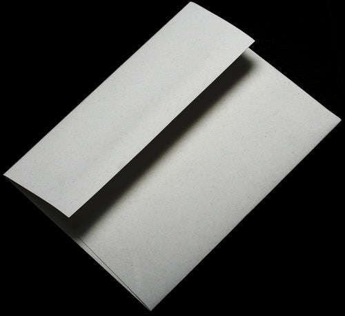 "6 1/2"" Square White Fiber Recycled Envelopes (6 1/2"" x 6 1/2"") - Paperandmore.com"