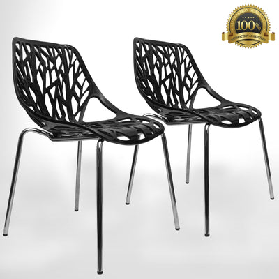 Birch Sapling Chair | BLACK | Set of Two