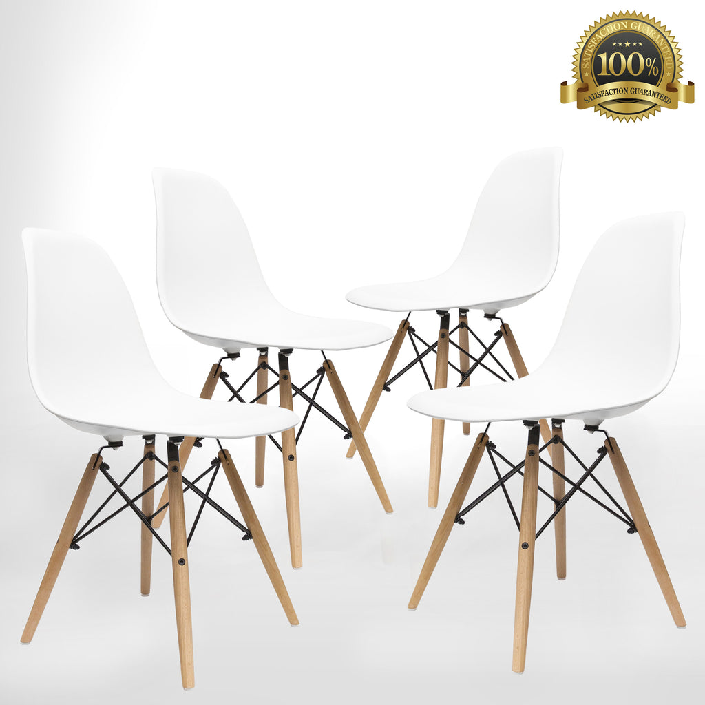 Mid Century Modern Style Chairs By UrbanMod (Set Of 4