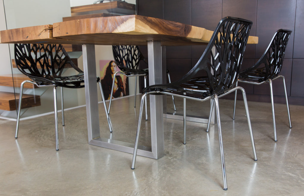 Birch Sapling Chair | BLACK | Set of Four