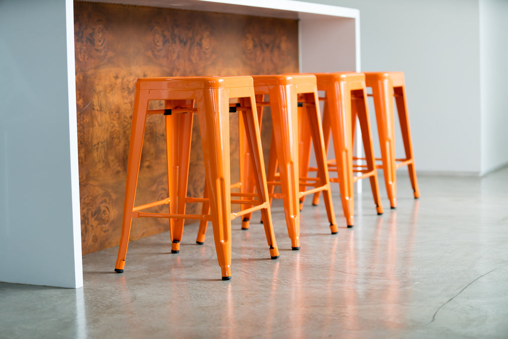 "24"" Steel Counter Height Stool 