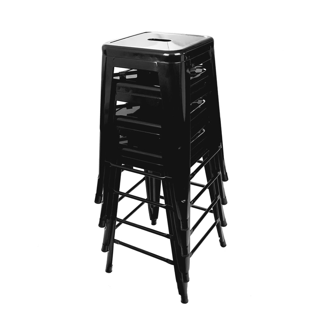 Black Steel Counter Stools Urbanmod