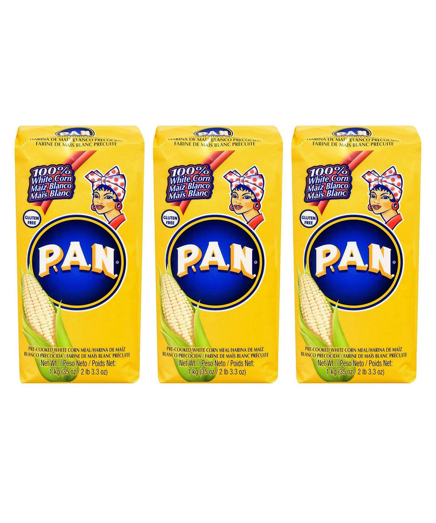 P.A.N. White Corn Meal