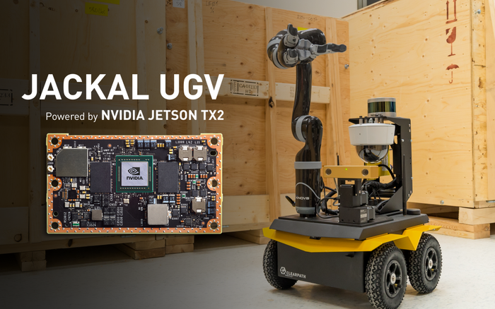 Jackal UGV and NVIDIA:  A Match Made in Heaven