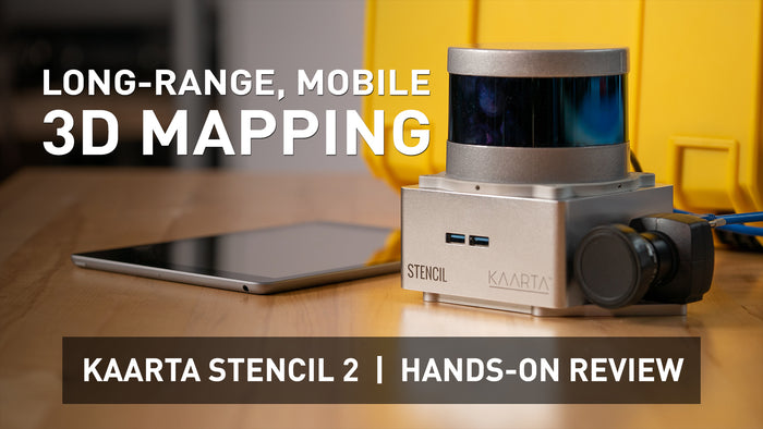 [VIDEO] Kaarta Stencil 2  |  Hands-on Review