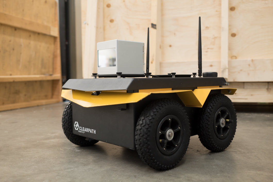 Clearpath Robotics' New Online Store Adds Cepton 3D LiDAR Solutions for Autonomous Robotic Applications