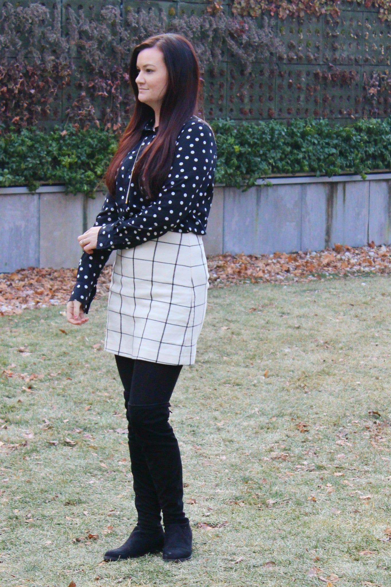 Black and White Pattern Mix - 1