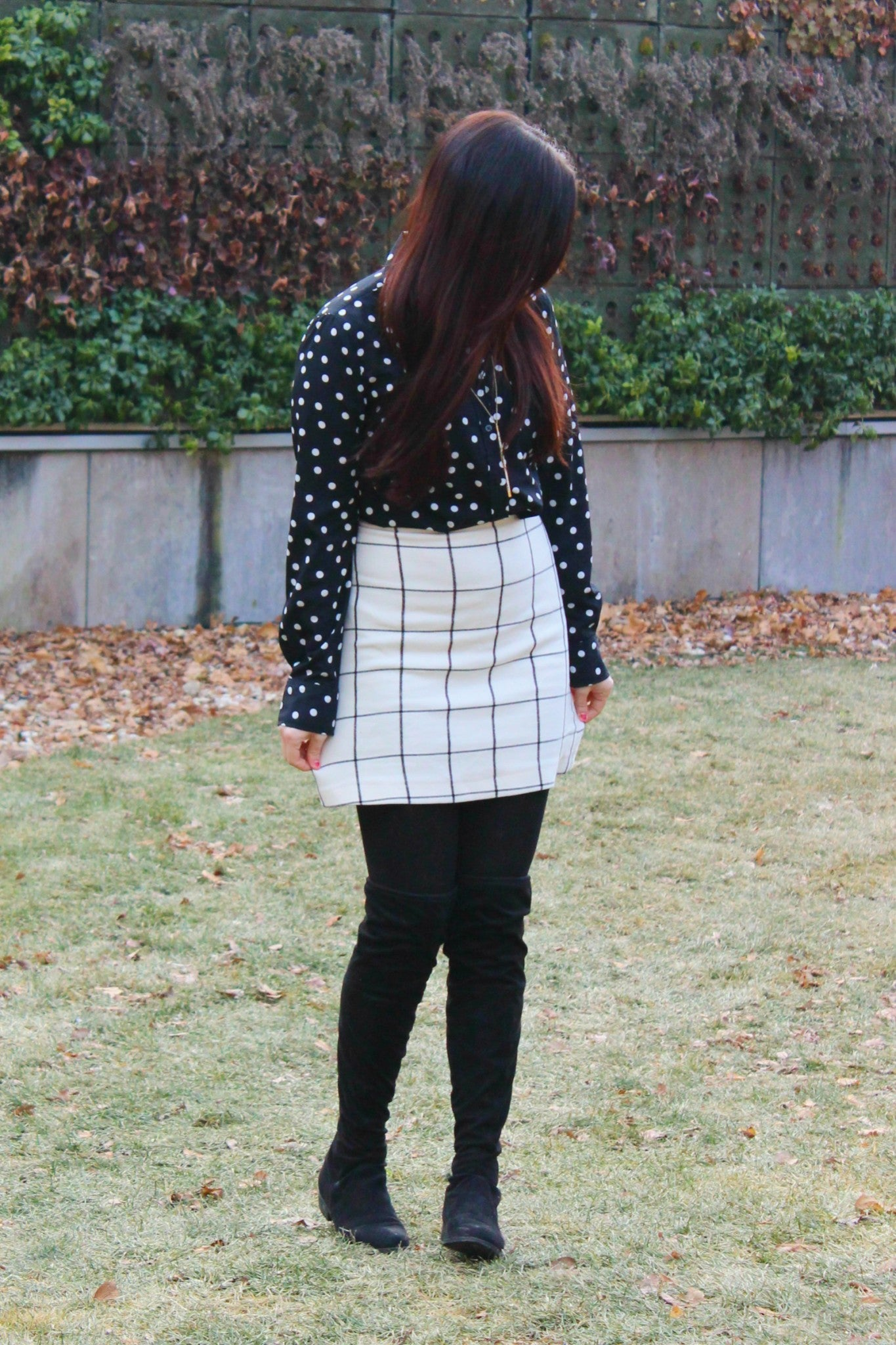 Black and White Pattern Mix - 5