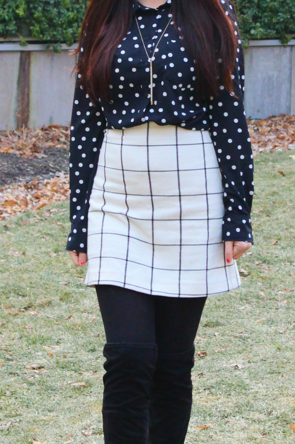Black and White Pattern Mix - 7