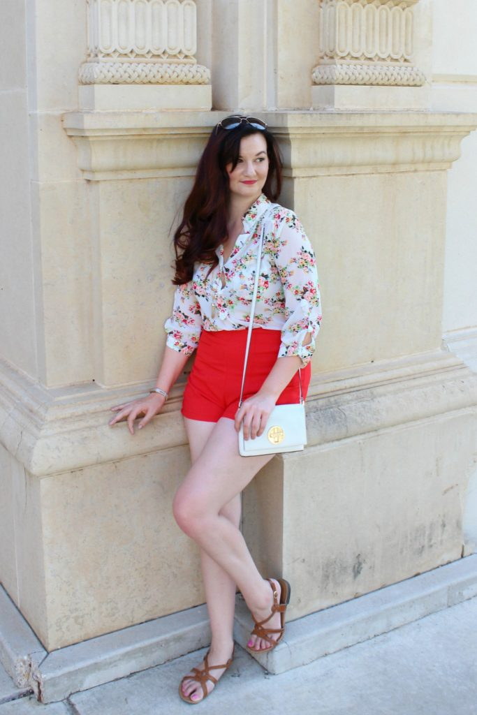 LBK floral and red - 2