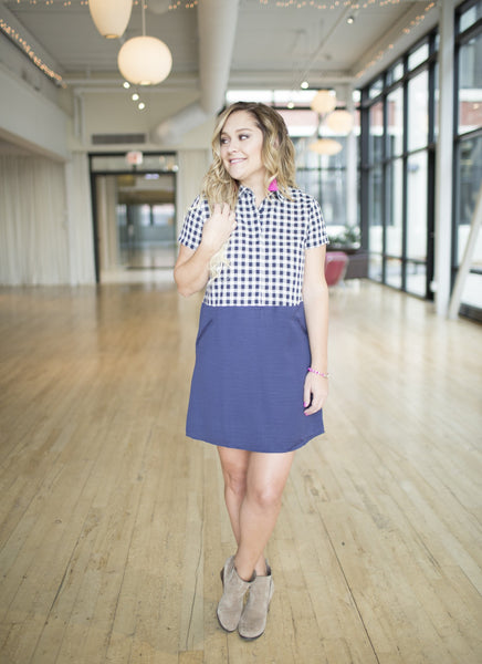 Blakely Pocket Shirtdress