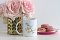 Blair and Serena BFF Mugs - Ceramic Mugs