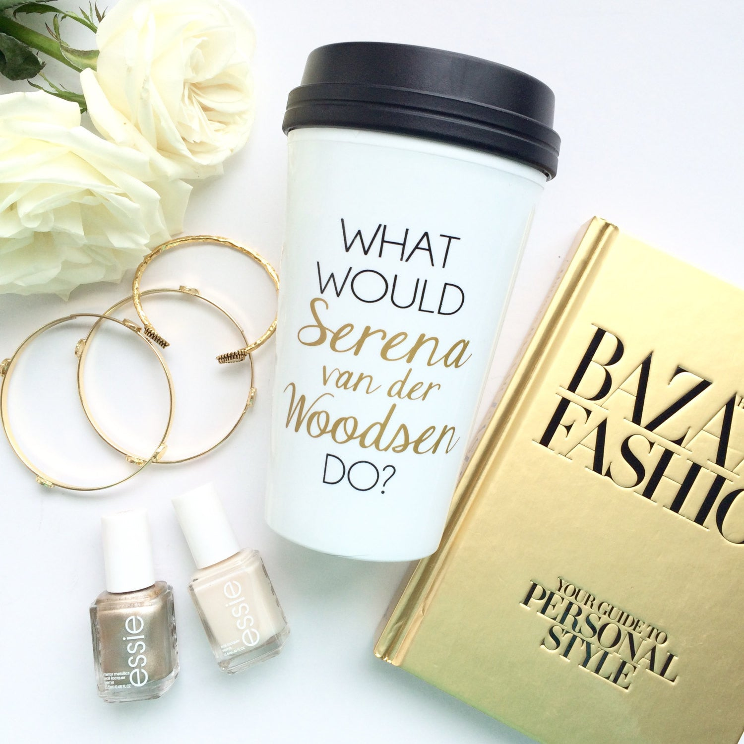 What Would Serena van der Woodsen Do? Travel Mug