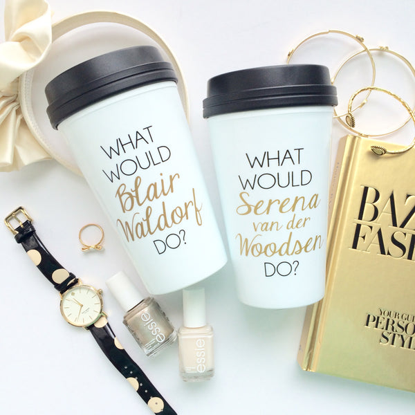 Blair and Serena BFF Mug Set - Travel Mugs