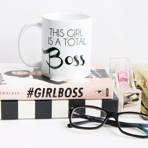 This Girl is a Total Boss Coffee Mug