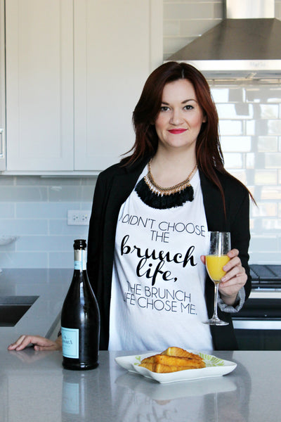 """I didn't choose the brunch life, the brunch life chose me"" Tshirt"