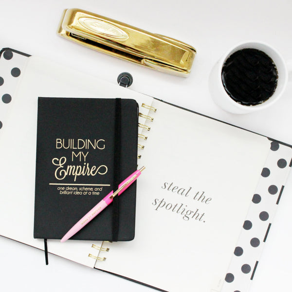 Building My Empire; one dream, scheme, and brilliant idea at a time Journal