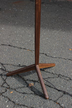 Black Walnut Floor Lamp