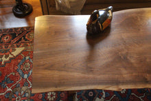 Live Edge Black Walnut Coffee Table (Custom)