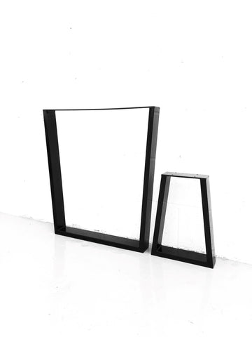 Inverted Trapezium Table Legs - Set of 2