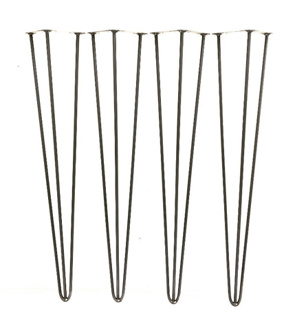 Hairpin Legs 3 prong - Set of 4