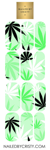 Decals- Green Leaf