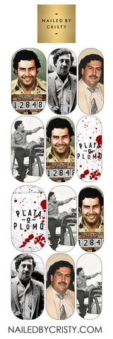 Decals- Pablo Escobar