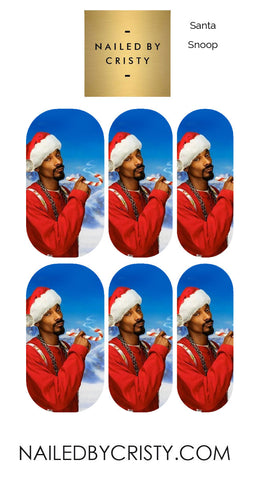Decals- Santa Snoop