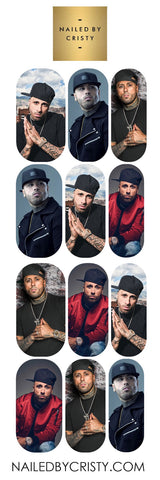 Decals- Nicky Jam